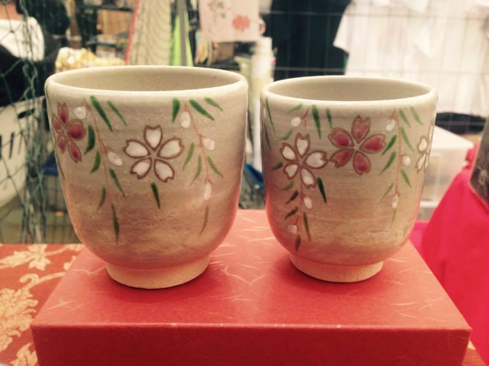 Set di Tazze Sakura, in ceramica