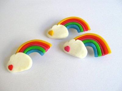 Spilla arcobaleno