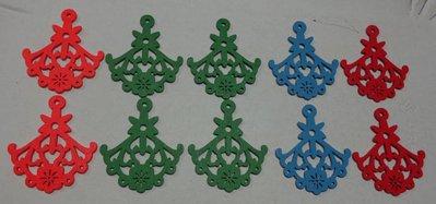 10 pendenti in Legno