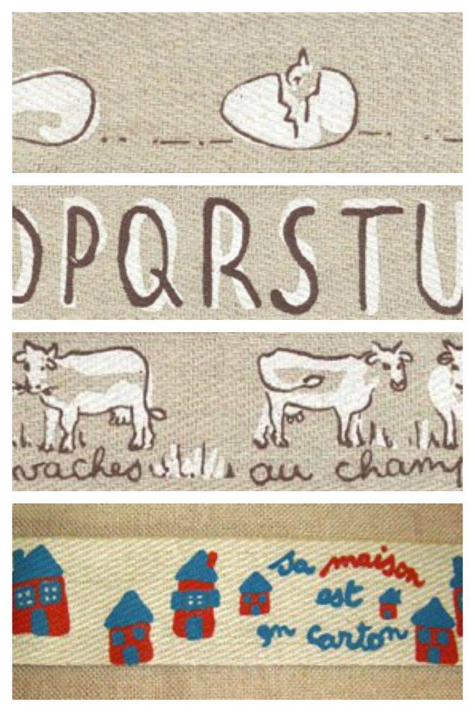 Nastri Decorativi - Mucche - Pulcini - Alfabeto - Casette  -  Picoti Picota