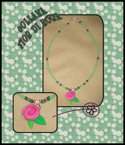 Collana Fior di Rosa