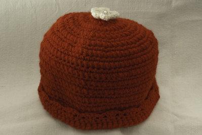 Cappello di lana rosso