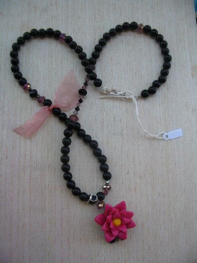 Collana fiore di loto