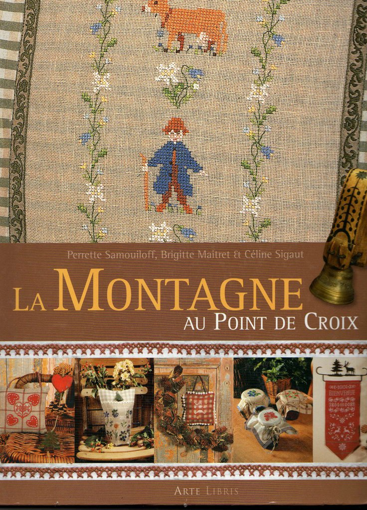 La Montagne au Point de Croix - Libro - La Montagna a Punto Croce
