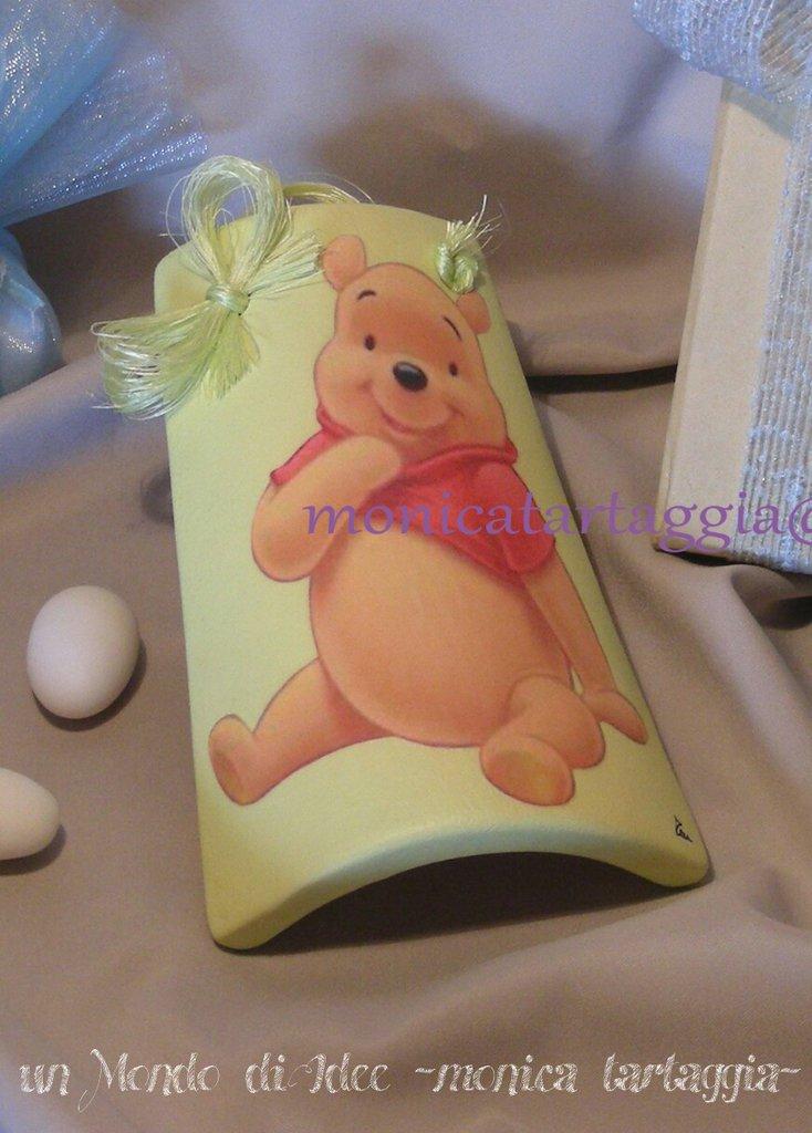 tegola/coppo piccolo winnie the pooh
