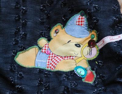 Borsa shopper con orso