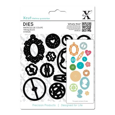 Set fustelle XCut - Buttons