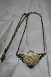 collana vintagè rose