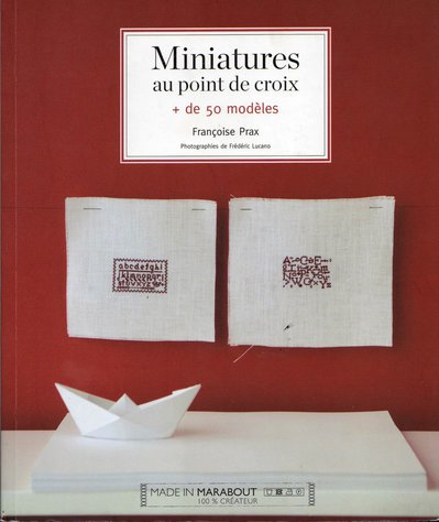 Miniatures au Point de Croix - Francoise Prax