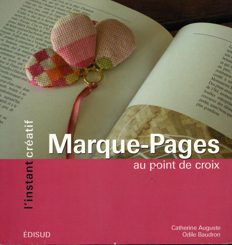 Marque-Pages au point de croix - Segnalibri a punto croce