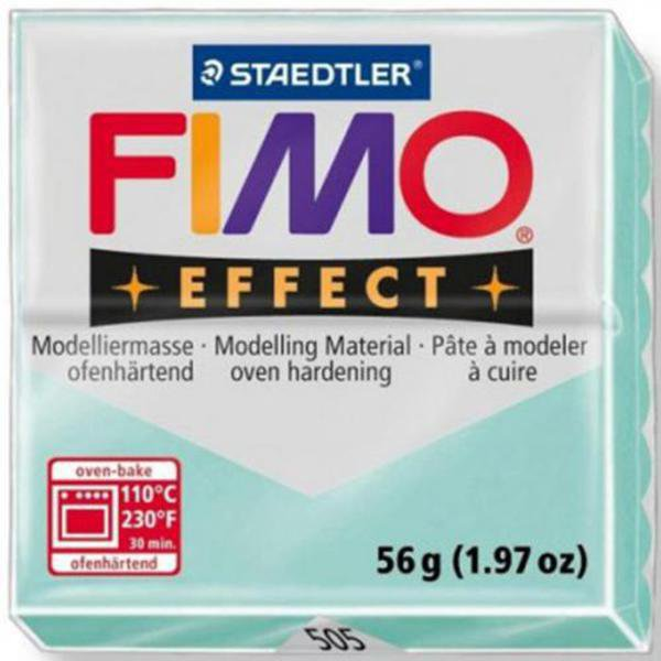 Panetto Fimo Effect 56 gr. - n. 505 Pastel Menta