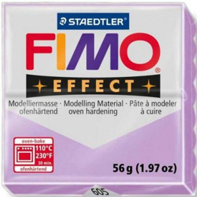 Panetto Fimo Effect 56 gr. - n. 605 Pastel Lilla