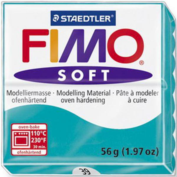 Panetto Fimo Soft 56 gr. - n. 39 verde menta