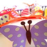 Bomboniere Comunione o Battesimo - Farfalle