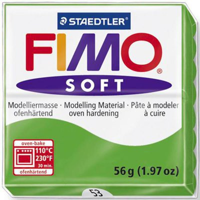 Panetto Fimo Soft 56 gr. - n. 53 verde tropicale