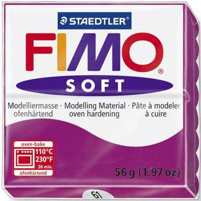 Panetto Fimo Soft 56 gr. - n. 61 porpora