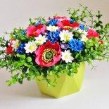 """Composizione floreale """"Prato di maggio"""" fatta a mano"""