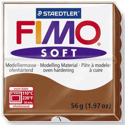 Panetto Fimo Soft 56 gr. - n. 7 caramello