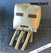 MAxi cuscino PILLOW - Minecraft - ghast nerd, gamer geek kawaii
