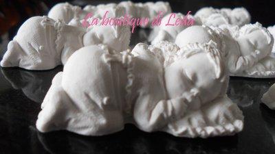 Gessetti per bomboniere a forma di bimba