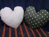 Cuscini a forma di cuore