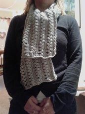 Sciarpa donna forcella in lana