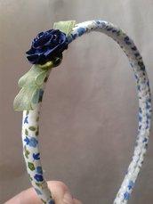 cerchiello bimba primavera blu
