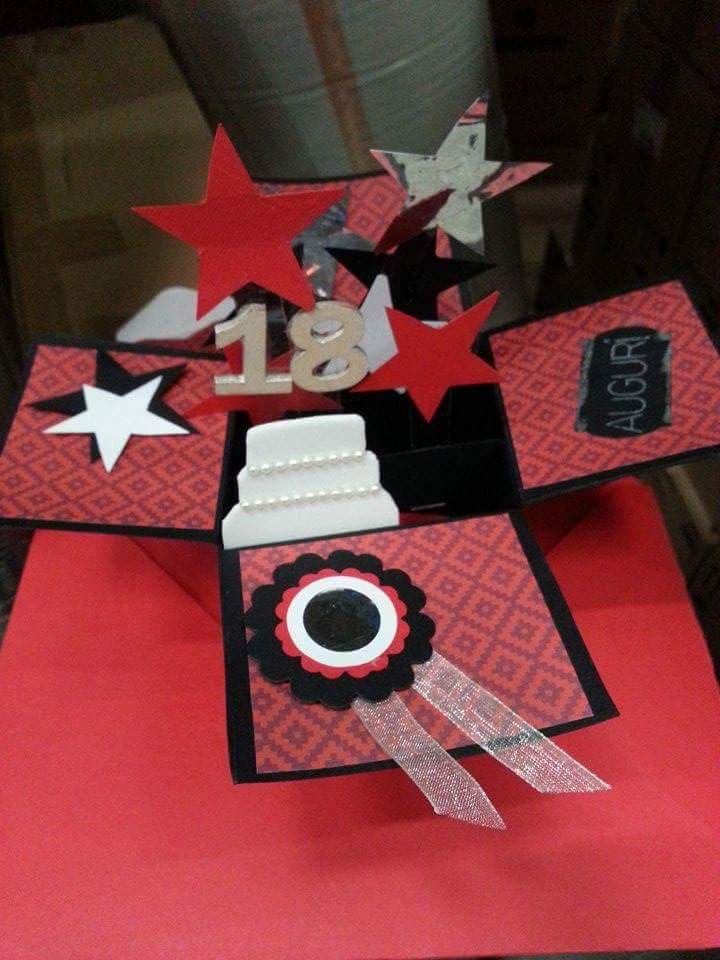 Card box explosion