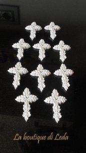 Gessetto per bomboniera  a forma di croce