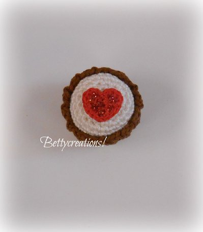 Calamita Magnete Cupcake Uncinetto 4