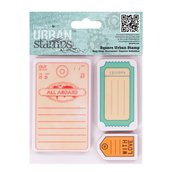 "Urban Stamps - All aboard ""Tags"""