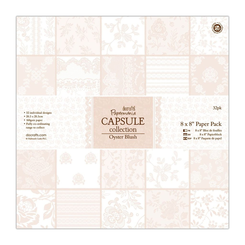 Blocco di carta 20x20 cm - Capsule Oyster Blush