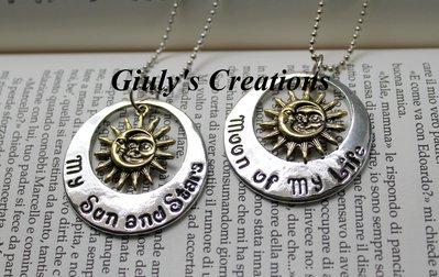 Collana Game Of Thrones Il Trono di Spade My sun and Stars Moon of My Life love Drogo e Daenerys Targaryen