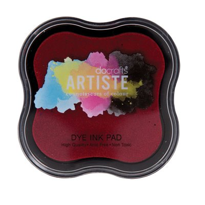 Tampone Dye Ink - Rosso