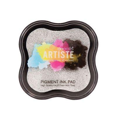 Tampone Pigment Ink - Argento metallizzato