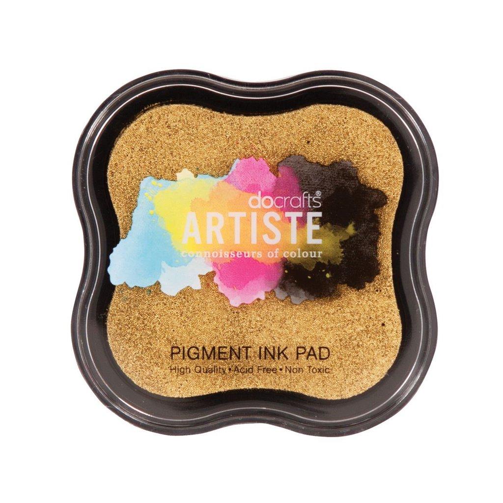 Tampone Pigment Ink - Oro metallizzato