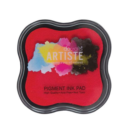 Tampone Pigment Ink - Rosso
