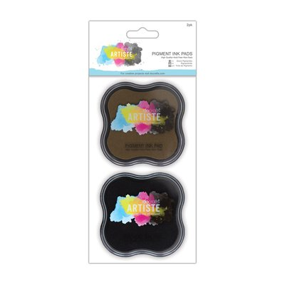 Tamponi Pigment Ink - Brown & Black