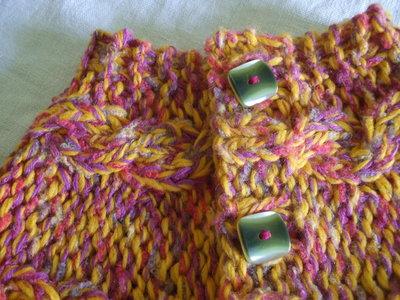 copri spalle ponchio bmba lana maglia