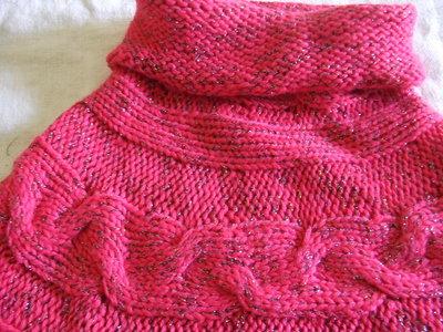 copri spalle bimba donna maglia cotone lana maglia