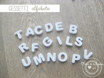 Alfabeto di gessetti