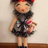 bambola in pannolenci