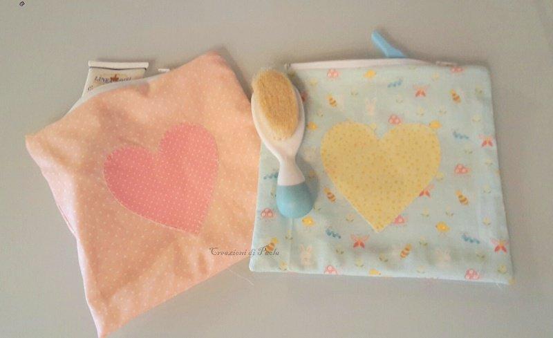 Sacchetti portatutto per bimbi e bimbe