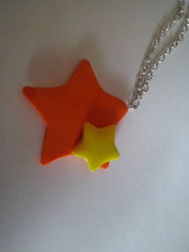 Collana stelle in fimo