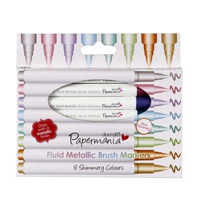 Brush Markers - Metallic