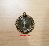 Collana Cammeo Albero di Gondor Minas Tirith Il Signore degli Anelli