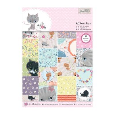 Blocco carta A5 - Little Meow