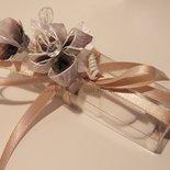 SPECIALE Matrimonio: Scatola (x10) porta confetti, segnaposto
