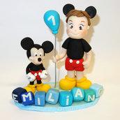 cake topper compleanno topolino mickey mouse