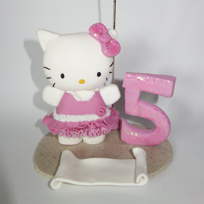 cake topper compleanno hello kitty